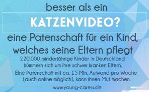 Patenschaft für Kinder Kranker Eltern, Youngcarer