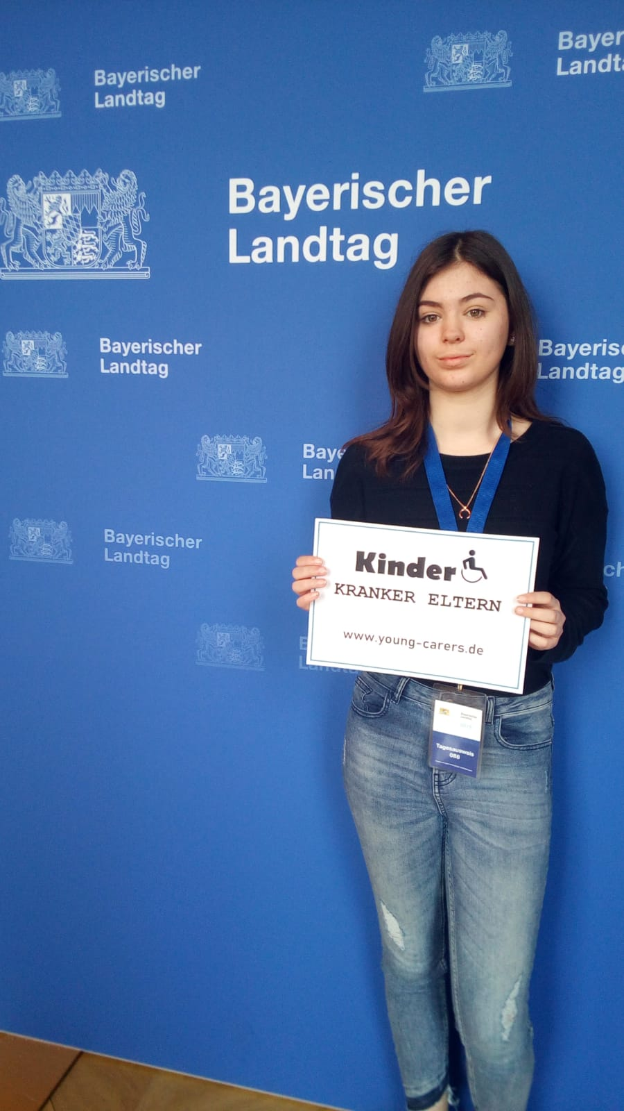 Young-Carer in Bayerischen Landtag