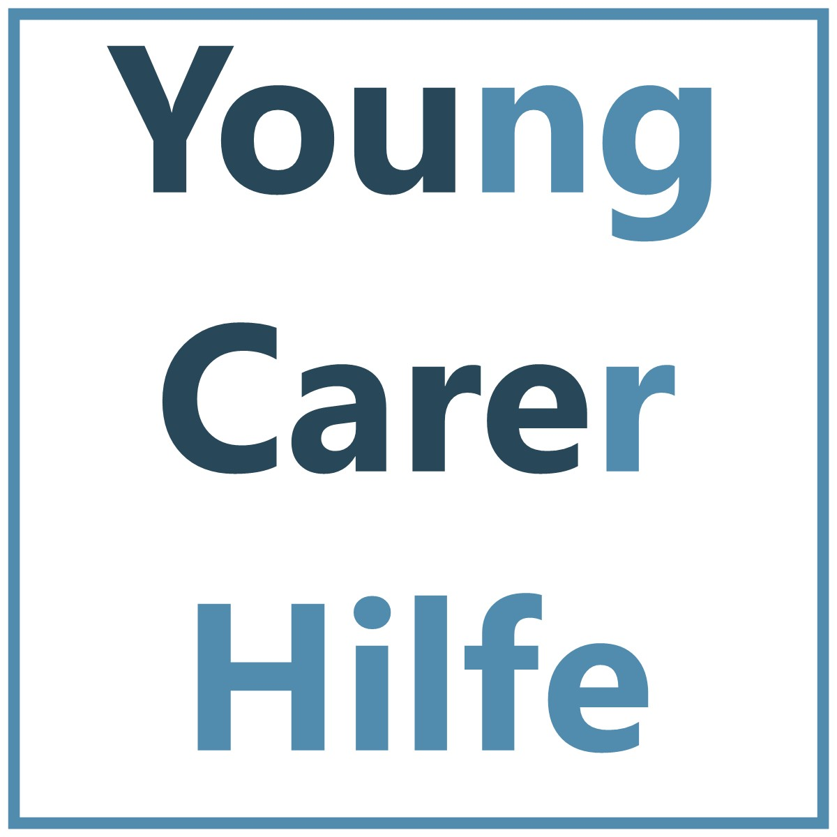 Young-carer, Youngcarer, Kinder Kranker Eltern, pflegende Kinder