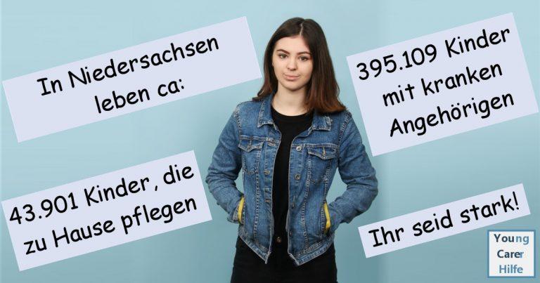 Niedersachsen, Youngcarer, Kinder kranker Eltern, pflegende Angehörige, Schulsozialarbeit, Schulung, Sucht, Depression, pflegende Jugendliche