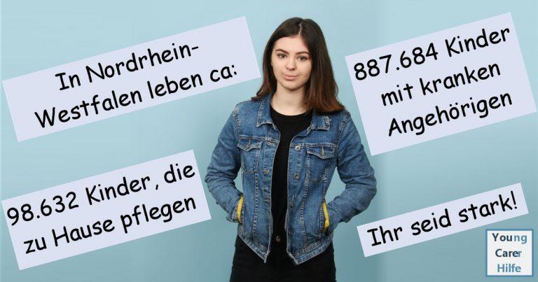 Nordrhein-.Westfalen, Youngcarer, Kinder kranker Eltern, pflegende Angehörige, Schulsozialarbeit, Schulung, Sucht, Depression, pflegende Jugendliche